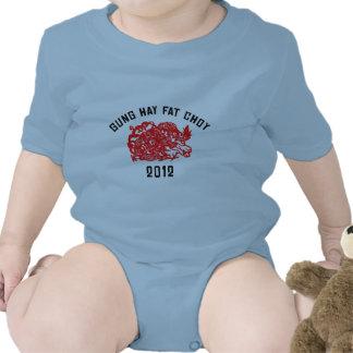 2012 Gung Hay Fat Choy T-Shirt Creeper