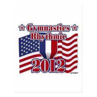 2012 Gymnastics Rhythmic Postcard