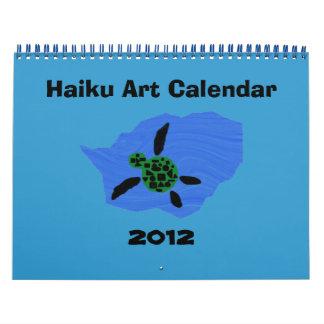 2012 Haiku Art Calendar