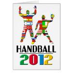 2012: Handball Greeting Card