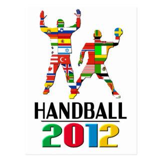 2012: Handball Post Card