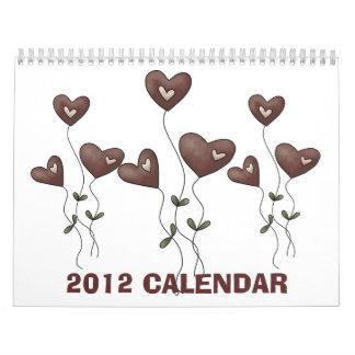 2012 Heartsake Calendar