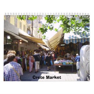 2012 Heraklion Market Calendar