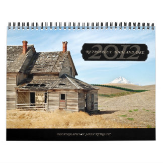 2012 High and Dry wall calendar