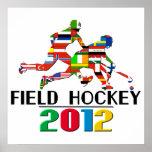 2012: Hockey hierba Impresiones