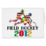 2012: Hockey hierba Tarjeta