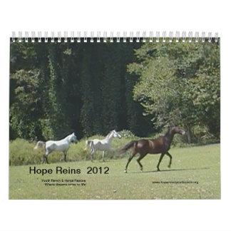 2012 Hope Reins Calendar