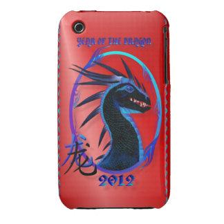 2012-Horned Black Dragon  Case-Mate Case