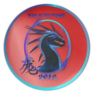 2012-Horned Black Dragon Plates