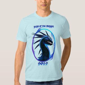 2012-Horned Black Dragon T-Shirts