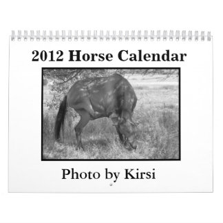 2012 Horse Calendar