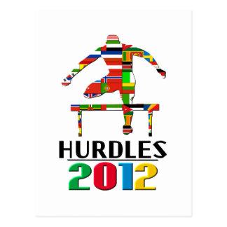 2012: Hurdles Postcard