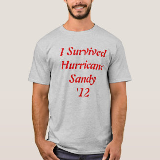 2012 Hurricane Sandy Survival T Shirt! T-Shirt