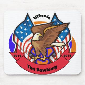 2012 Illinois for Tim Pawlenty Mouse Pad