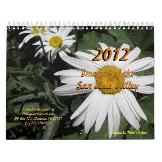 2012 - Imágenes del valle del San Luis Calendario De Pared