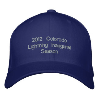 2012 Inaugural Season Pro Back-PUR Embroidered Baseball Hat