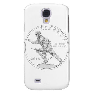 2012 Infantry Coin US Army Galaxy S4 Cover