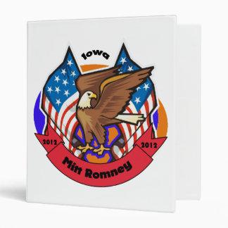 2012 Iowa for Mitt Romney Binders