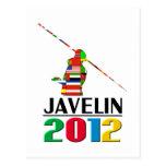 2012: Jabalina Postales