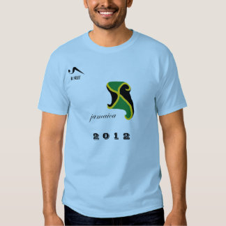 2012 Jamaica Blue Olympic T Shirt