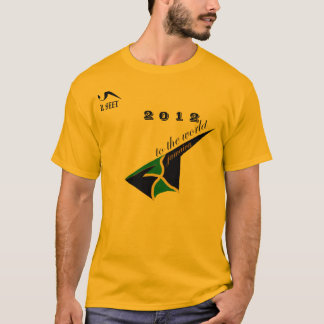 2012 Jamaica Gold Olympic Tshirt