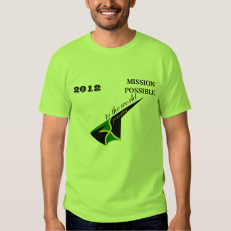 2012 Jamaica Mission Possible T-shirt