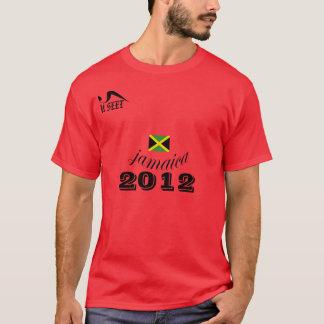 2012 Jamaica Red  T Shirt