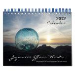 2012 Japanese Glass Float Calendar