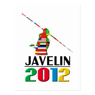 2012: Javelin Post Cards
