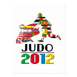 2012: Judo Postcard