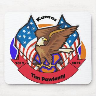 2012 Kansas for Tim Pawlenty Mouse Pad