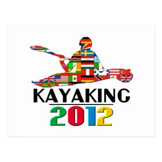 2012: Kayaking Post Cards