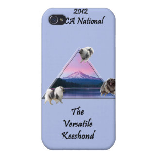2012 KCA Logo Case for iPhone 3/3G (Blue) iPhone 4 Cases