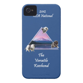 2012 KCA Logo Case (Navy) for iPhone 4/4s iPhone 4 Case-Mate Case