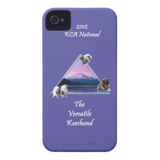 2012 KCA Logo Case (Purple) for iPhone 4/4s Case-Mate iPhone 4 Case