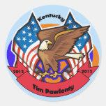 2012 Kentucky for Tim Pawlenty Round Sticker