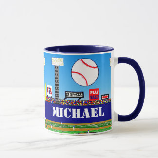 2012 Kids Sports Baseball Mug Personalized Gift