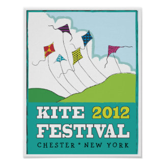2012 Kite Festival - Go Fly a Kite Poster