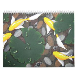2012 koi calendar