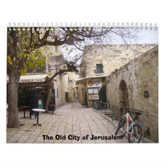 2012 la ciudad vieja de Jerusalén Calendarios