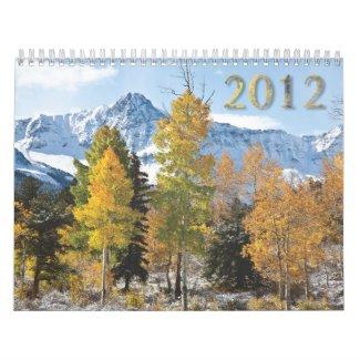 2012 landscape calendar calendar