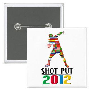2012: Lanzamiento de peso Pin
