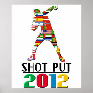 2012: Lanzamiento de peso Póster