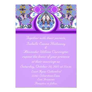 2012 Lavender Purple Personalized Party Invitation