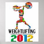 2012: Levantamiento de pesas Impresiones