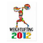 2012: Levantamiento de pesas Tarjeta Postal