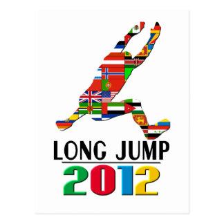 2012: Long Jump Postcard