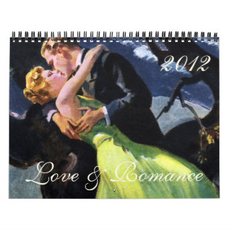 2012 Love and Romance Wall Calendars