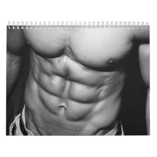 2012 Male Fitness Model & Bodybuilding Calendar