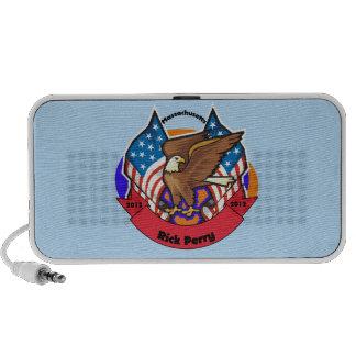 2012 Massachuetts for Rick Perry iPod Speaker